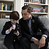 Chuck and Blair's son, Henry, attends the festivities.