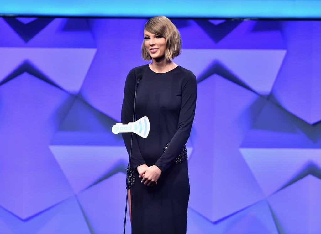 Taylor Swift regrets not speaking out during the 2016 election.