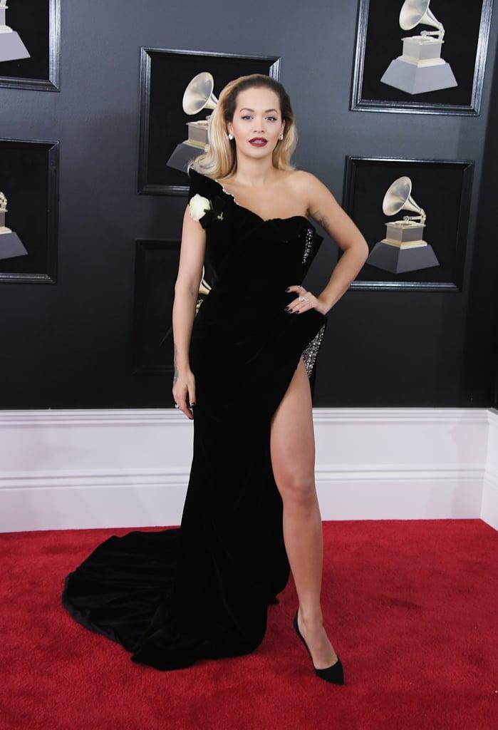 Rita Ora | Grammys Red Carpet Dresses 2018 | POPSUGAR ...