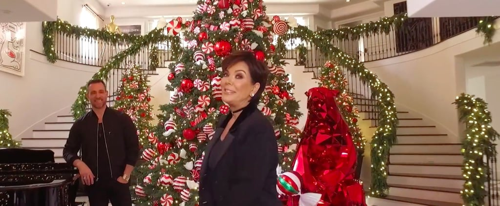 Kris Jenner's Christmas Decorations Are So Spectacular Even Santa Would Be Blown Away
