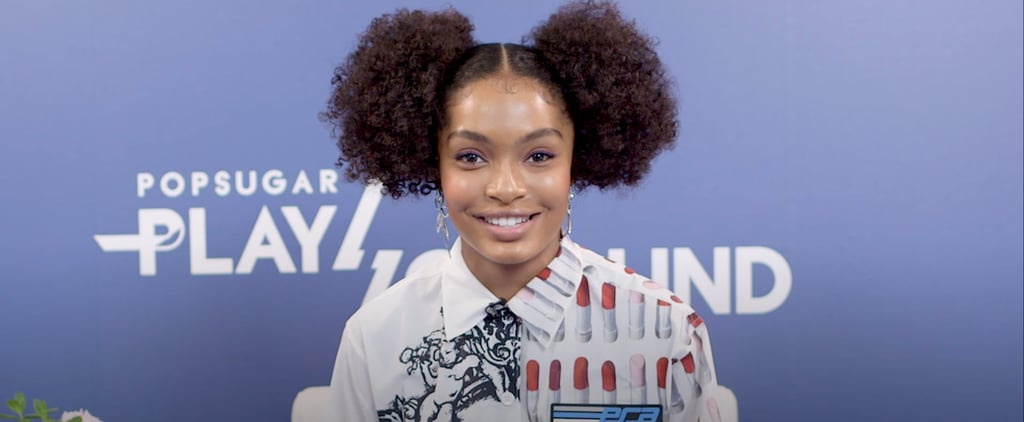 Yara Shahidi Interview at POPSUGAR Play/Ground