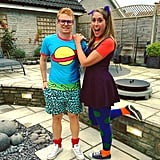Chuckie and Angelica From Rugrats