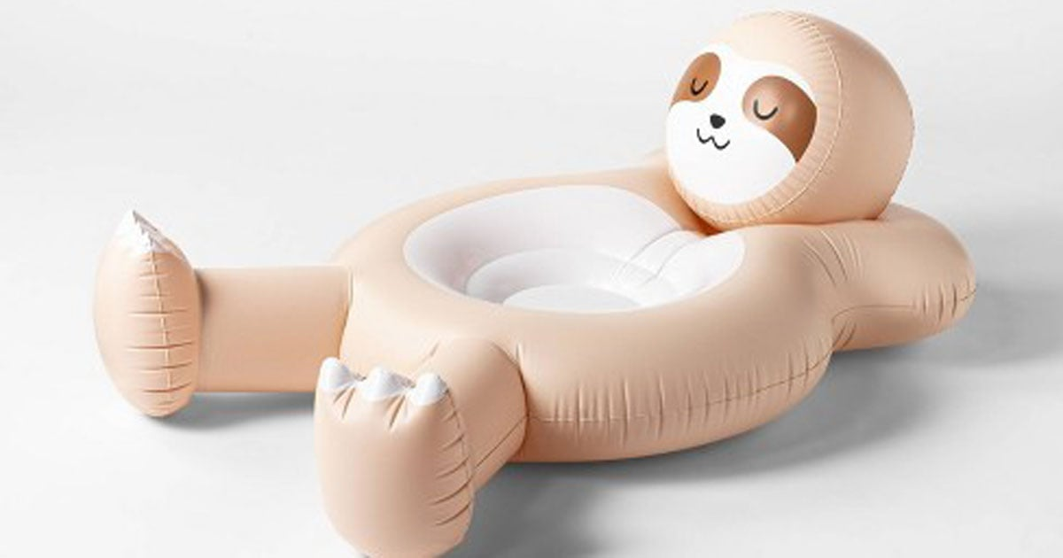 No Shame: We Want to Cuddle Up With This Sloth Pool Float and Never Let Go