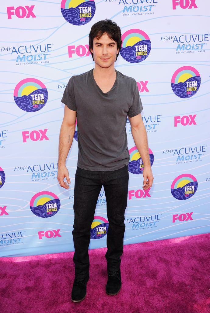 Ian Somerhalder struck a pose.