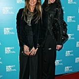 Pip Edwards and Nikki Hunter at the Sydney Film Festival in 2009