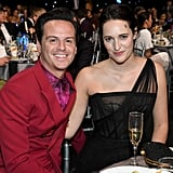 Andrew Scott and Phoebe Waller-Bridge at the 2020 Critics' Choice Awards