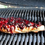 Blackberry Jalapeño Glazed Pork Tenderloin