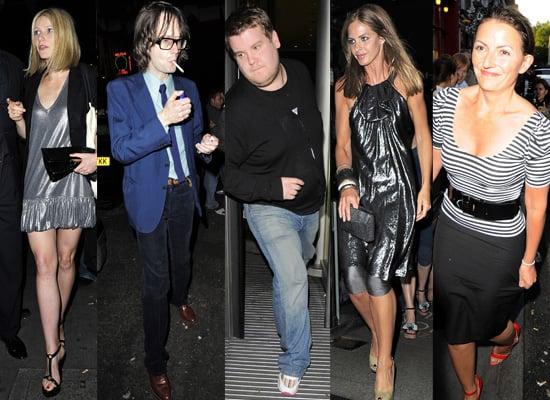 Elle MacPherson, Gwyneth Paltrow, Bruce Forsyth, Stella McCartney, Lou Reed, Jarvis Cocker At Ronnie Scotts For Karaoke