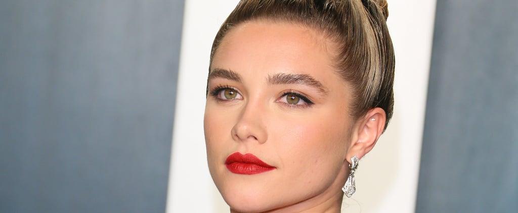 Florence Pugh Dyed Her Ends a Pastel Pink Hair Colour