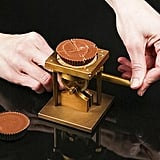 A Chocolate Cutter, Because Who Needs Hands?