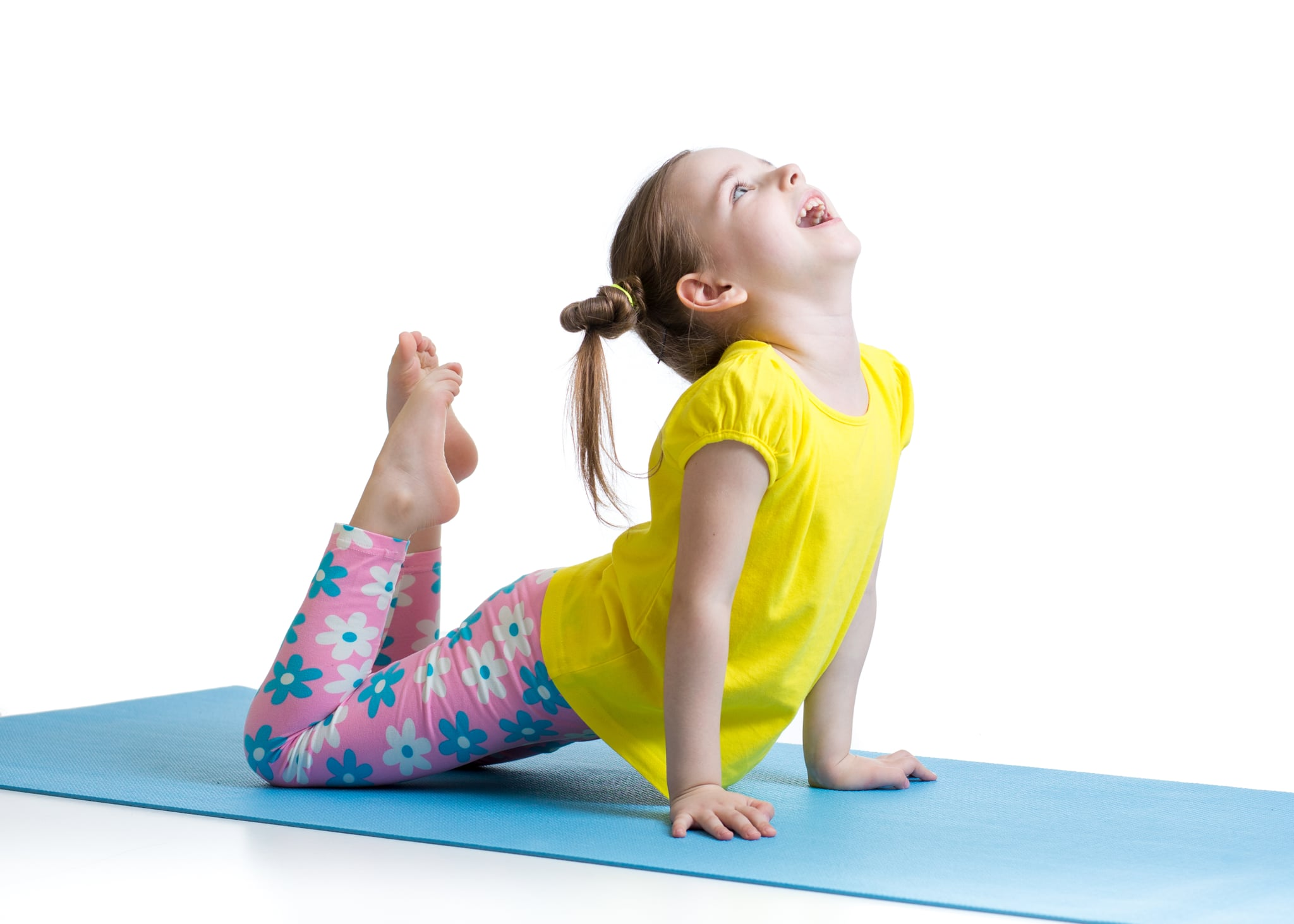 Yoga Poses You Can Do With Your Kids Popsugar Family