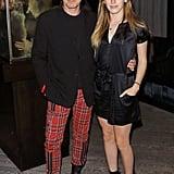 Ewan McGregor and Daughter March 2016