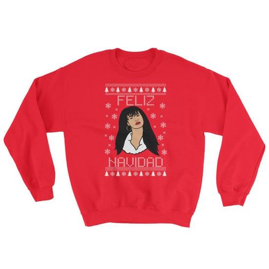 Selena Quintanilla Christmas Sweater