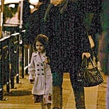 Pictures of Katie Holmes and Suri Cruise in Vancouver