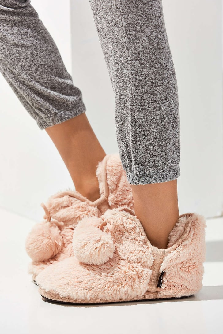 fuzzy slippers 78 gifts for women that won 39 t break the bank popsugar smart living. Black Bedroom Furniture Sets. Home Design Ideas