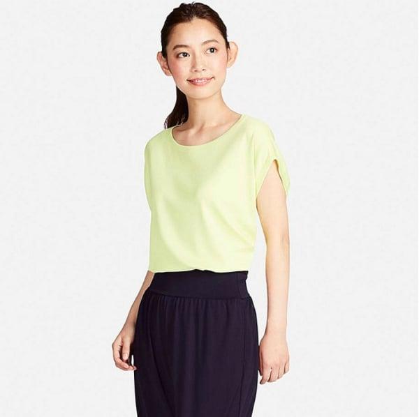 Dry Yoga Short-Sleeve T-Shirt