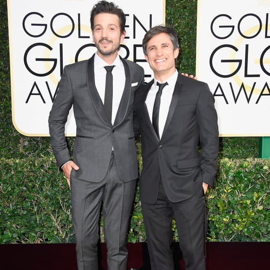 Gael Garcia Bernal and Diego Luna at the 2017 Golden Globes