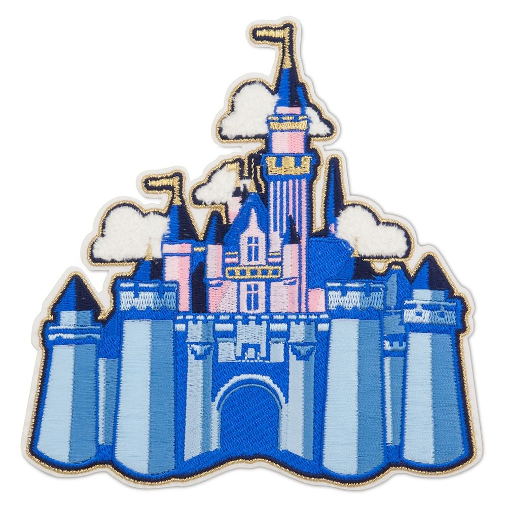 Sleeping Beauty Castle Patched — Disneyland