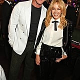Kylie Minogue and Luke Evans