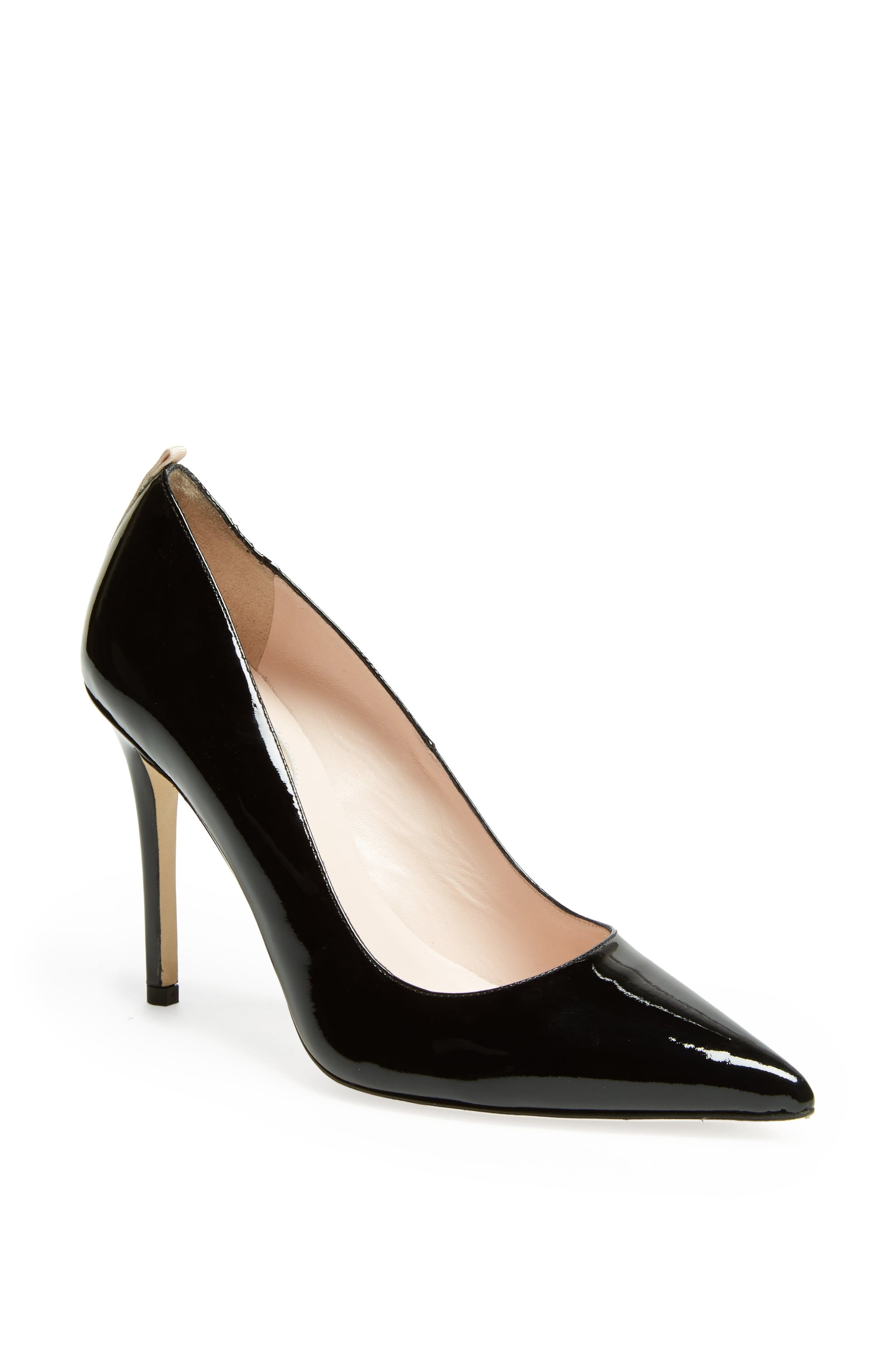 Fawn 70 in Black Patent, $350