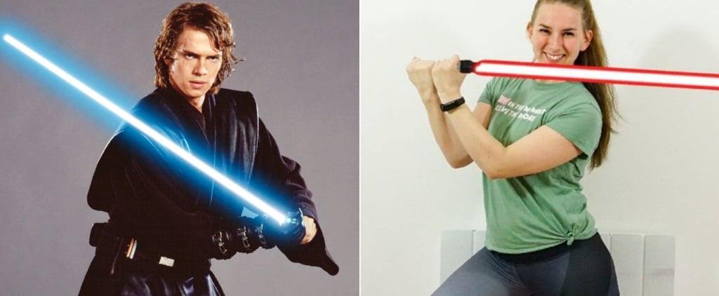 Sharona's Hill Star Wars Leg Day Challenge