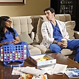 Mindy Kaling and Chris Messina on The Mindy Project. Photo courtesy of Fox