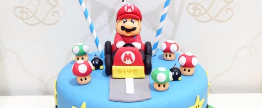 Nintendo Birthday Cakes For Kids