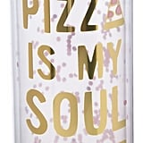 Pizza Is My Soul Mate Water Bottle