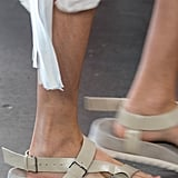 Walkable sandals with lots of breathing room.