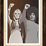 Gloria Steinem & Dorothy Pitman Hughes Print