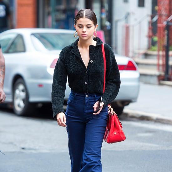 Selena Gomez Wearing Stuart Weitzman Clinger Boots