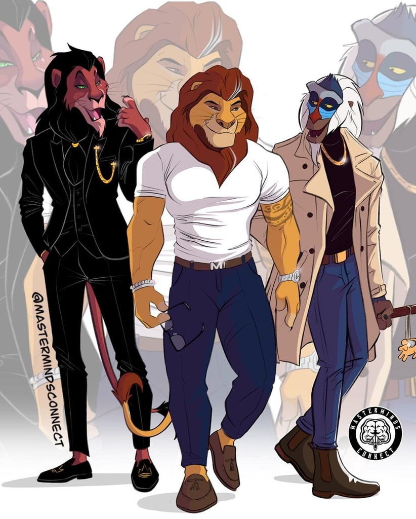 Artist Gave The Lion King Characters a Humanlike Makeover