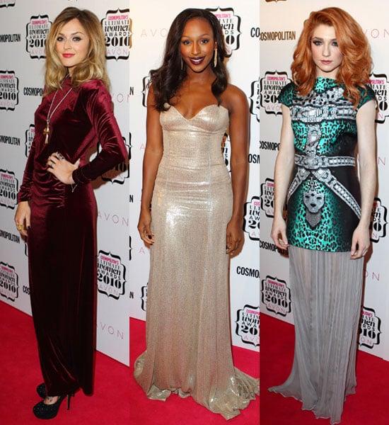 Pictures of Cosmopolitan Women Of Year Awards Fearne Cotton, Alexandra Burke, Nicola Roberts, Myleene Klass, Christine Bleakley