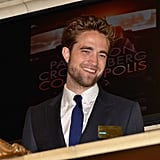 Robert Pattinson rang the opening bell at the New York Stock Exchange.