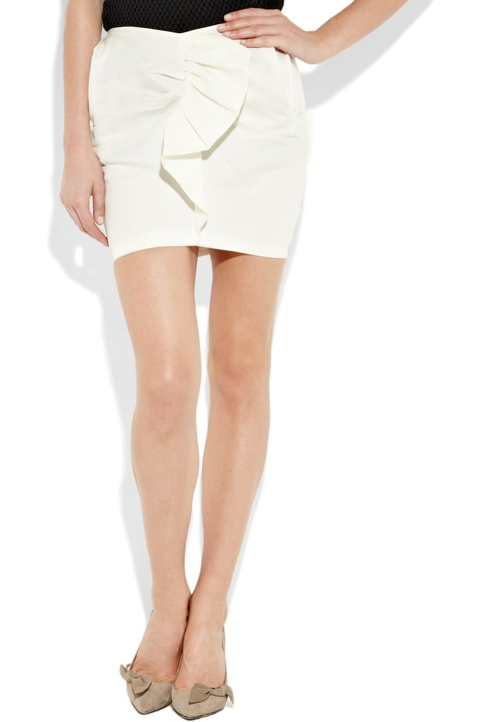 A Marant masterpiece at a fraction of the price.  Isabel Marant Miniskirt ($148, originally $370)