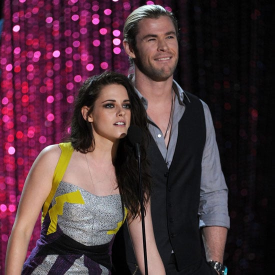 Kristen Stewart Onstage Pictures at MTV Movie Awards