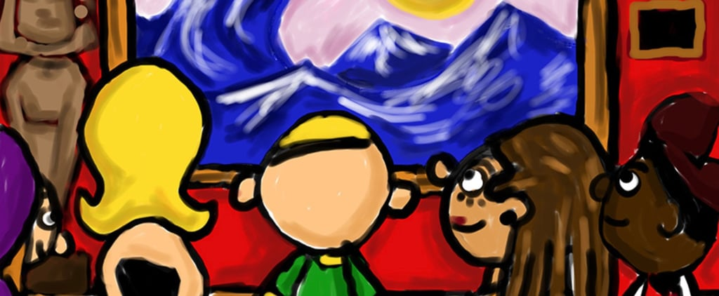 Art of Autism Created on iPad Exhibit Exclusive Interviews