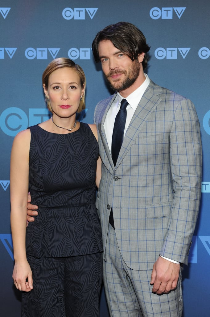 Charlie Weber and Liza Weil