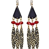 """""""I'm on the hunt for tribal-inspired jewelry that still has a polish to it. These are perfect for music festival season."""" — Marisa Tom, associate editor  Bellissima Tribal Drop Earrings ($50)"""