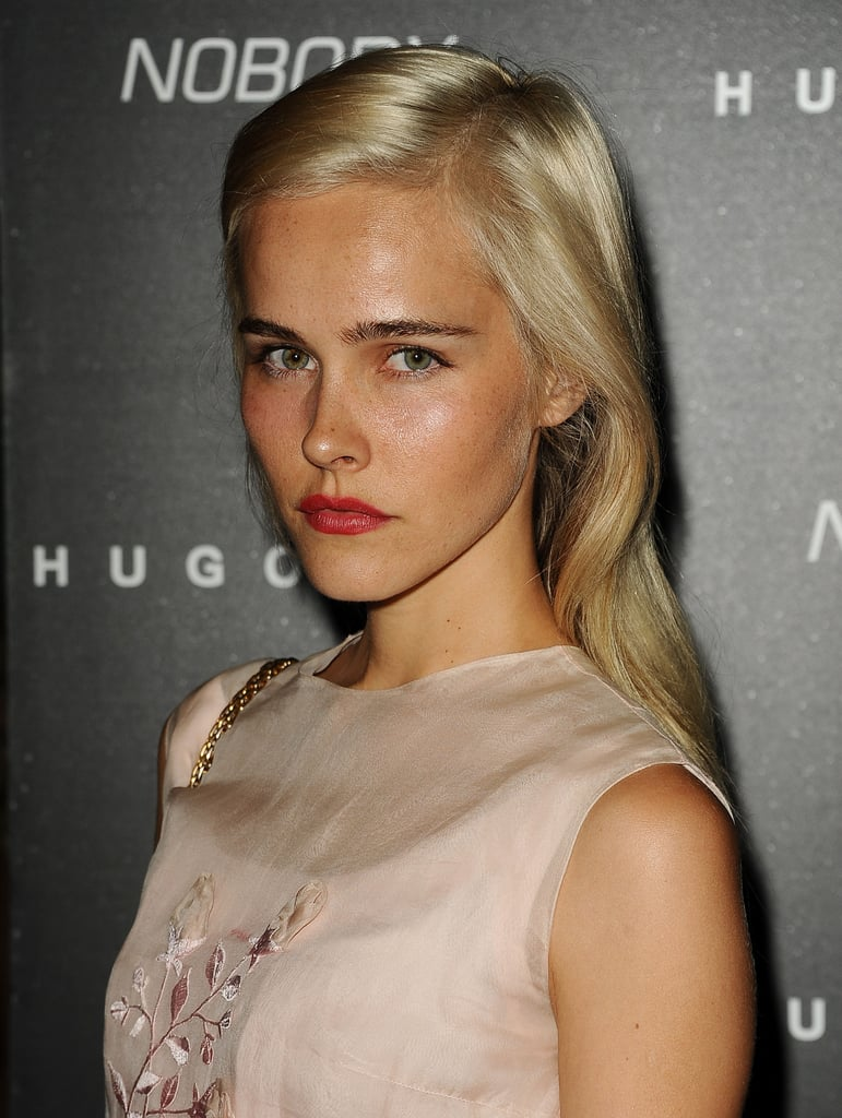 Isabel Lucas paused for a photo.