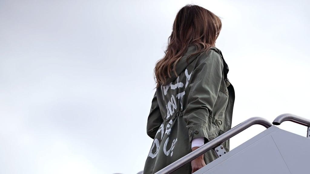 """Reactions to Melania Trump's """"I Really Don't Care"""" Jacket"""