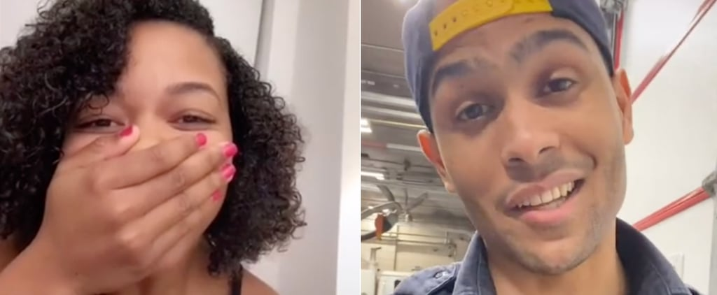 Woman Finds Firefighter Who Saved Her From Elevator | TikTok