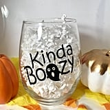 Halloween Party Wine Glass