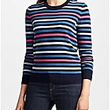 Collection WEEKEND by John Lewis Fine Stripe Cashmere Jumper