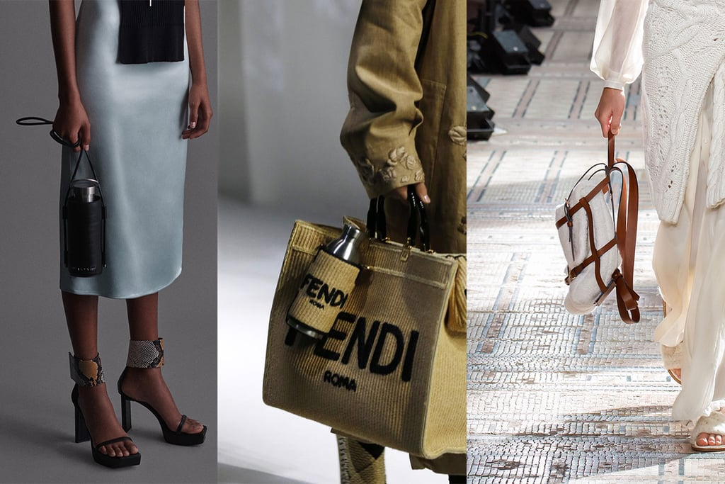 Spring 2021 Bag Trend: Utilitarian/Water-Bottle Bags