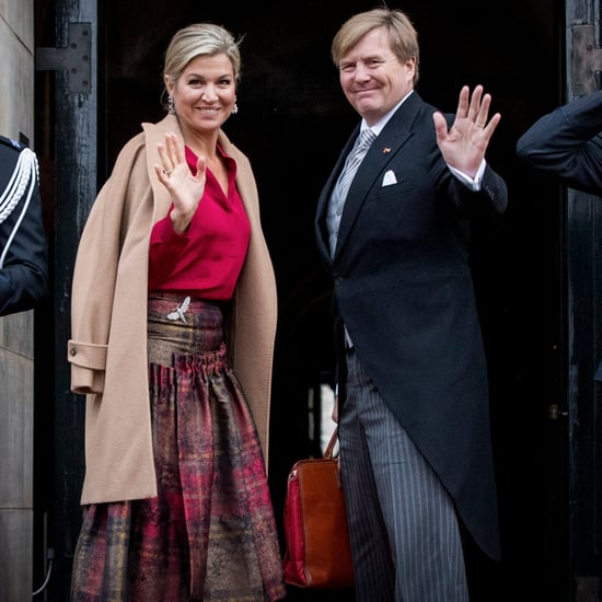 Queen Maxima's Tartan Skirt January 2017