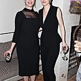 Michelle met up with Christina Hendricks on Saturday.
