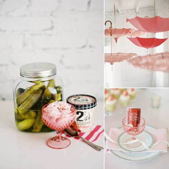 A Dreamy Baby Shower With a Dash of Humor