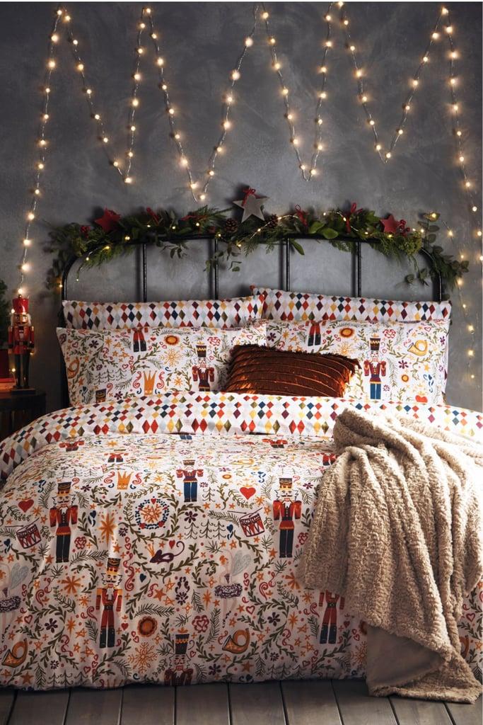 Riva Home Christmas Nutcracker Duvet Set