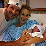 Tony Romo and wife Candice Crawford welcomed son Hawkins in April 2012.